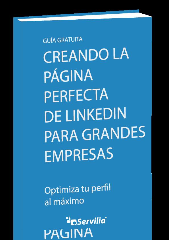 Guía gratuita: Creando la página perfecta de LinkedIn para grandes empresas